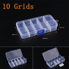 Регулируемая 3-36 ячеек пластиковая коробка для хранения ювелирных изделий серьги шарик винт держатель Чехол Дисплей Органайзер контейнер(China)