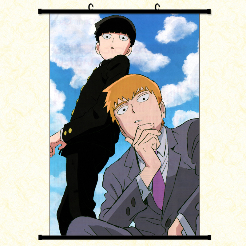 Anime Mob Psycho 100 Coated Paper Scroll Poster Collection 20X30CM