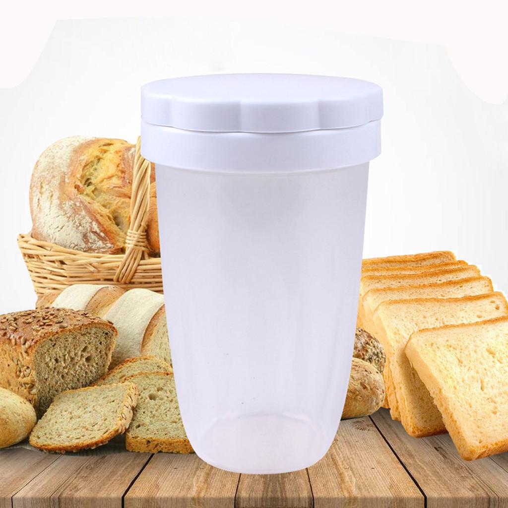 Plastic Flour Sifter Sieve Chocolate Powder Shaker Kitchen DIY Baking Supplies