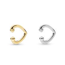 Punk Fashion Gold Silver Color Ear Cuff Earrings for Women MINI Cute Small Earcuff Clip on Earring No Pierced Elegant Jewelry(China)