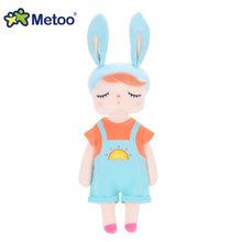 Boneca Metoo Recheadas Brinquedos de Pelúcia Animais Crianças Brinquedos para As Crianças Meninas Meninos Do Bebê Kawaii Brinquedos de Pelúcia Angela Dos Desenhos Animados Brinquedos de Pelúcia de Coelho(China)