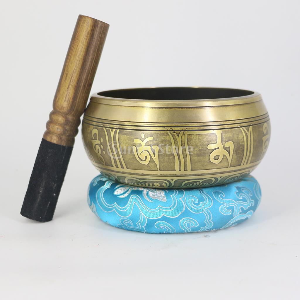 Tibetan Nepal Singing Bowl Pillow Mallet Relaxtion Accessory for Meditation