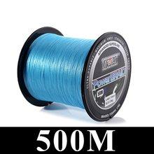 FTK 114 м/300 м/500 м 125 ярдов PE плетеная леска 4 нити 0,10 мм-0,40 мм 8LB-60LB Япония сильная многофиламентная леска(China)
