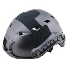 Esportes ao ar livre leve tático capacete rápido, abs ajustável capacete com trilhos laterais montagem nvg para tiro de caça paintball(China)