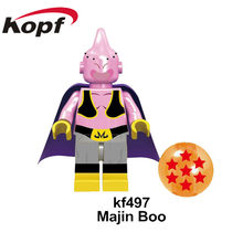 Única Venda Tijolos de Blocos de Construção da Série Dragon Ball Son Goku Vegeta Raditz Recoom Preto Kuririn Figuras Para As Crianças Brinquedos de Presente(China)