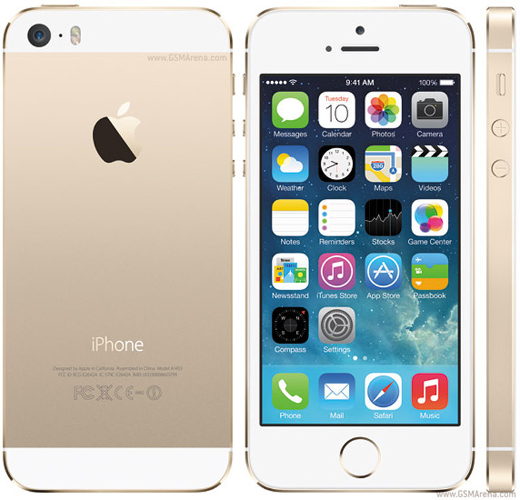 Мобильный телефон Apple iphone 5S 16GB GSM WCDMA WiFi GPS 8MP 4.0""