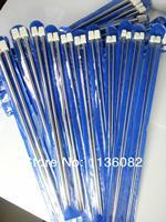 35 см 11pcs/set нержавеющей одного заостренными спицами крючком крючок инструмент ремесло, вязание спицы набор 2.0 мм-8,0 мм