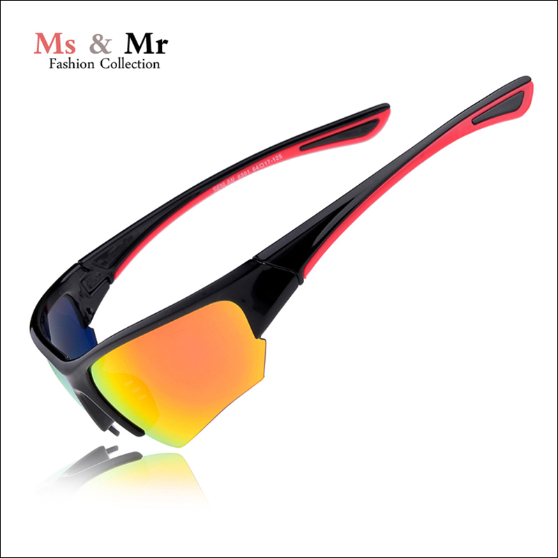 2016 New Sunglasses Men and women,Ultralight PC frame Orange lens sunglasses Eyewear Outdoor Sport UV400 Goggle Sun Glasses.(China (Mainland))