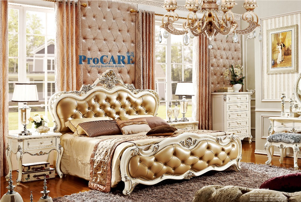 Popular royal style furniture buy cheap royal style for New style bed