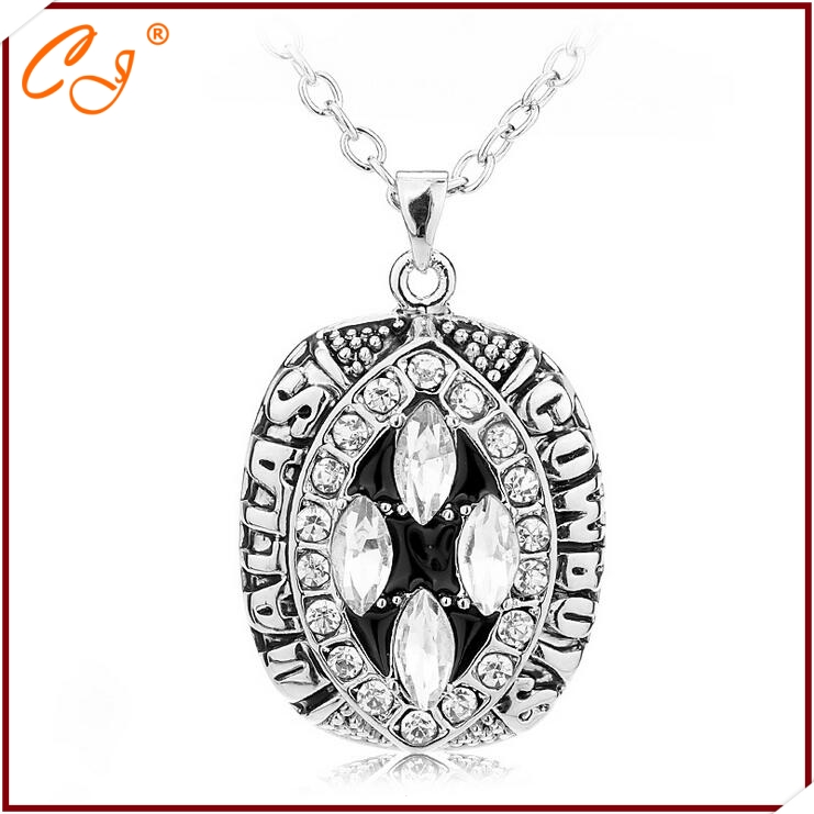 The new NFL super bowl necklace necklace Dallas cowboys champion in 1994 Factory direct sale(China (Mainland))