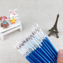 1 pcs  Drop Shipping Hot Sale Tiny Liner Acrylic Nail Art Tips Design Pen Painting Drawing Brush Set(China (Mainland))