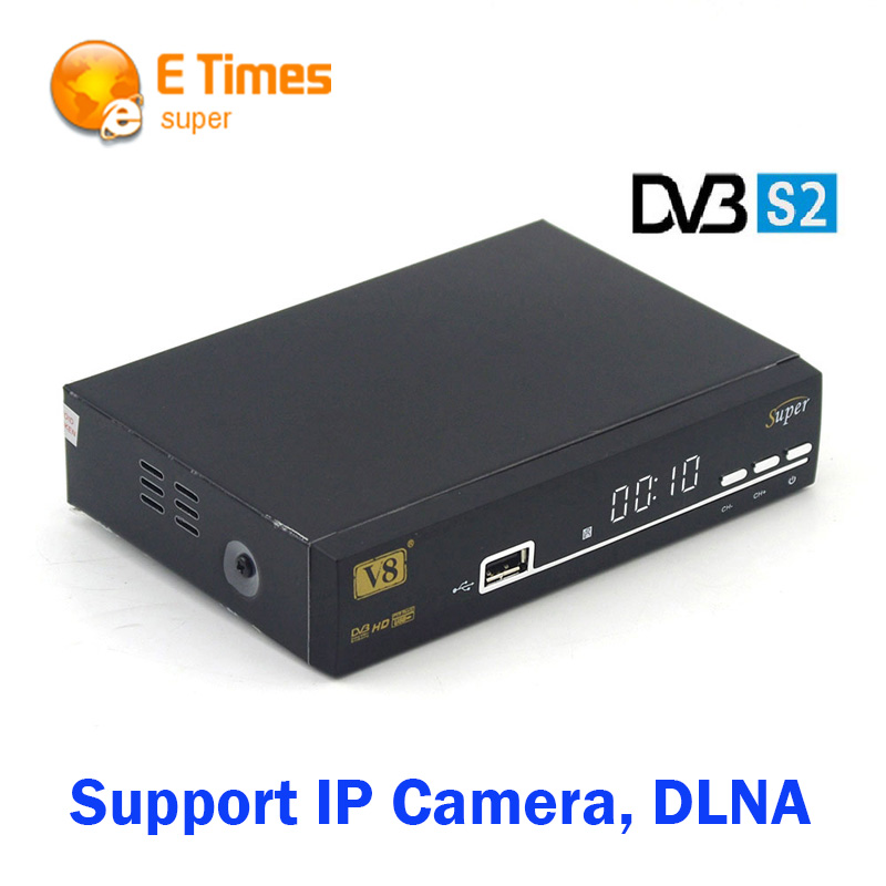 FREESAT V8 Super DVB-S2 Satellite Receiver Support 3G usb dongle GPRS dongle USB WiFi DVB-S2 WEB TV IP Camera DLNA Media player(China (Mainland))