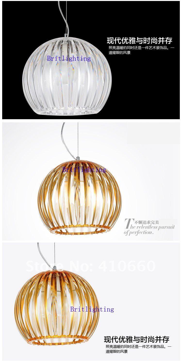 Plastic Pendant Lamp Single Kitchen Lighting Lighting