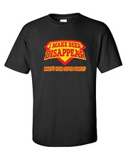 Buy Make Beer Disappear What's Super Power Funny Mens T-Shirt for $9.99 in AliExpress store