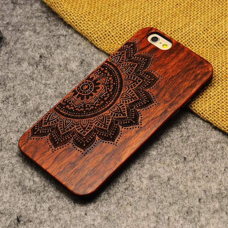 2016 hot sale Retro Nature Wood Case for Apple iPhone 5 5S Cover Wooden Cases in Stock(China (Mainland))
