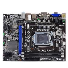 USB2.0 VGA H61m-s26 v6 LGA 1155 DDR3 полный твердотельные конденсаторы пояс dvi vga интерфейс материнской платы 1155 серии