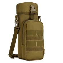 High Quality MOLLE System Waterproof Tactical Water Bottle Pocket Crossbody bag Army Durable Nylon Pocket Phone Messenger Bag B(China (Mainland))