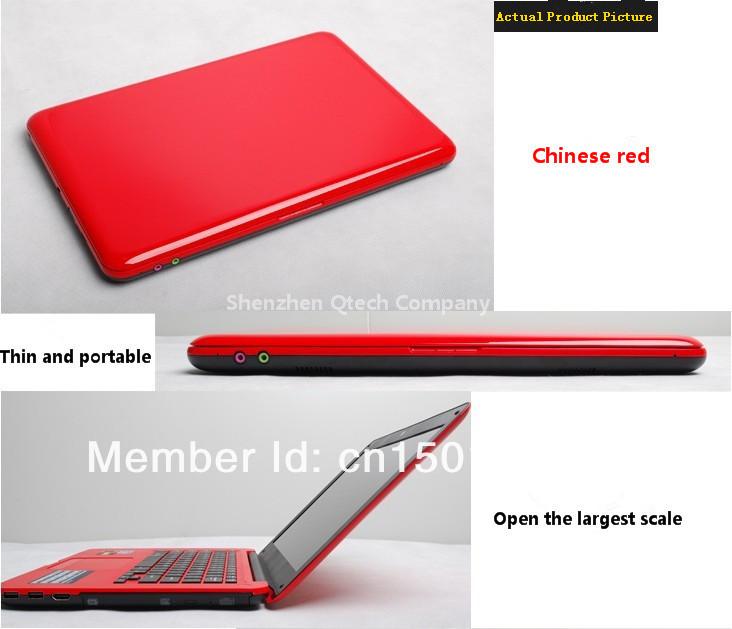 13.3 дюймов процессора intel windows7 8.1 портативный ноутбук DVD-RW Wifi озу 4 ГБ 320 ГБ офис студент компьютер русский испанский клавиатура