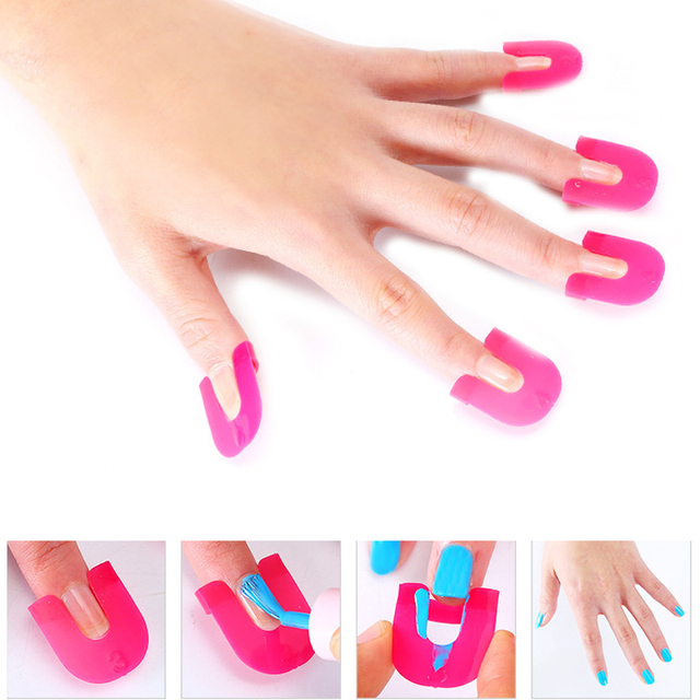 New Arrive Nail Polish Shield Protector Molds Spill-Resistant ...