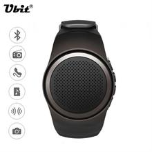 High quality bluetooth smart watch with remote control selfie sport mini bluetooth speaker support TF card FM radio hands-free