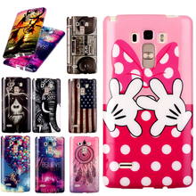 Cartoon Silicone Case For LG G4 Stylus S770 Cover Ultra Slim Elephant Monkey Soft TPU Coque For LG G4 Stylus S770 Phone Cases