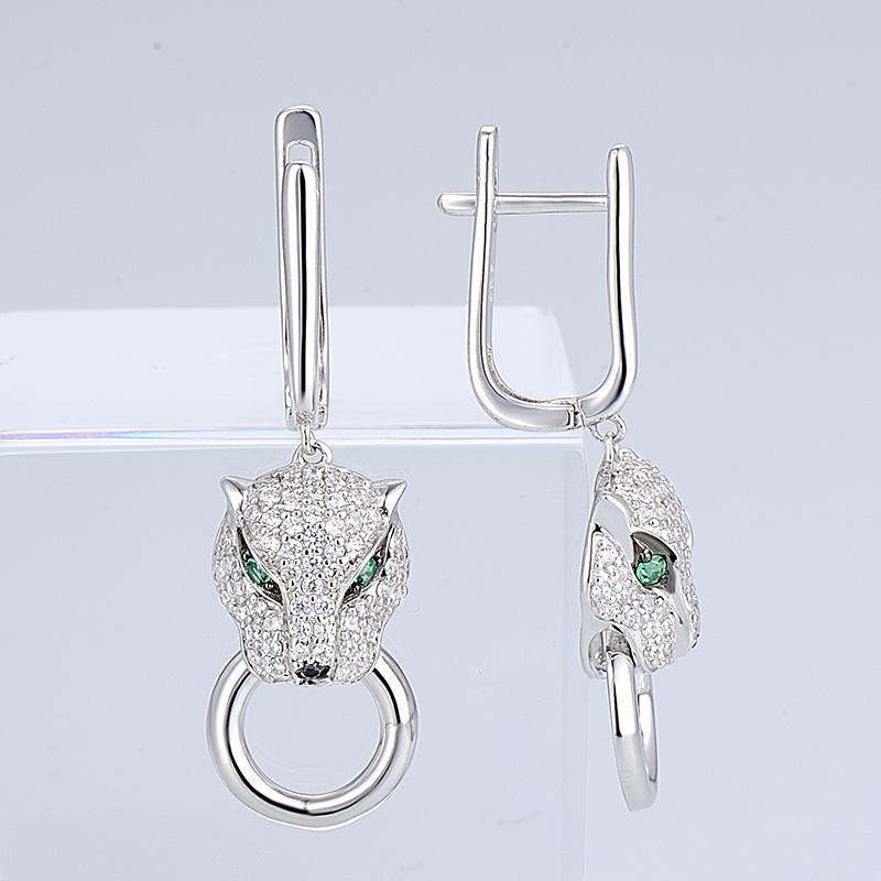 Silver Earrings - E304390SBGSZSL925-SV9