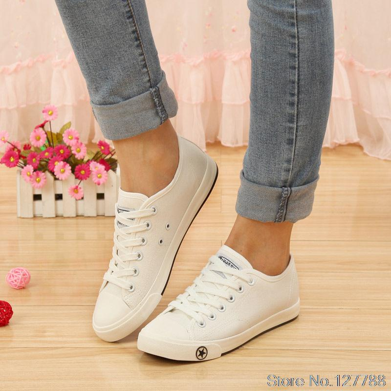 Global popular low-top canvas shoes Korean tidal shoes breathable summer women sneakers fashion single shoes #B1749<br><br>Aliexpress