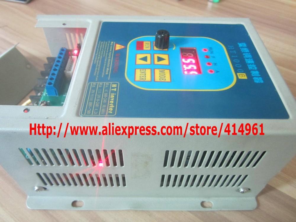 Купить HengTai HT1000B используется преобразователь частоты 220 В 1.5KW привод 380 В Двигатель ПЕРЕМЕННОГО ТОКА Бесплатная Доставка