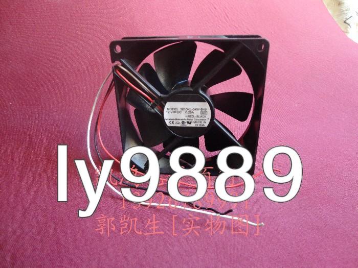 NMB 3610KL-04W-B49 Fan AXIAL Panel Mount .28AMP 12VDC