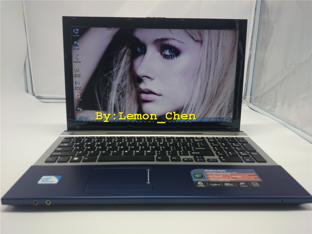 Free Shipment!15 inch gaming laptop notebook computer Wtih DVD 8GB DDR3 1TB HDD in-tel celeron J1900 2.0Ghz WIFI webcam HDMI(China (Mainland))