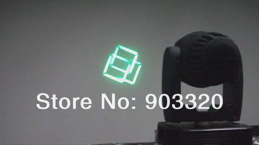 Купить НОВЫЙ Высокой Мощности 150 Вт ПРИВЕЛО Перемещение Головы Пятно С Функцией Масштабирования, 6 + 1 Гобо + Вращающийся 3-гранной Prisim
