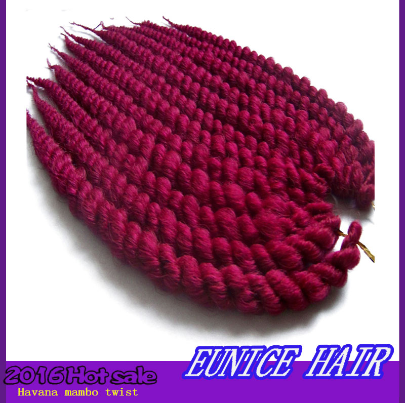Crochet Hair Aliexpress : Crochet Braids Hairstyles 12strands Per Pack Havana Kinky Twist Hair ...