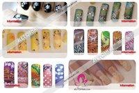 Шаблоны для дизайна ногтей 557 * M1 + M2