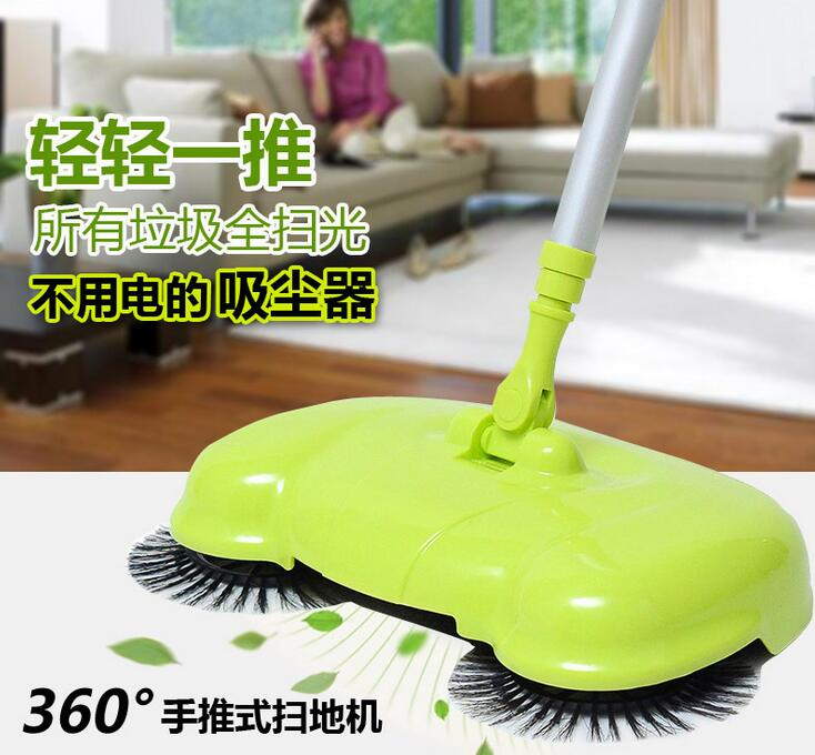 2016 New Home Cleaning Tools Handheld Sweeper Broom Mops 360 Degree Rotatable Cleaner for home Hard Floors Dust Cleaner(China (Mainland))