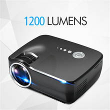 EMP - GP70 800 x 480 Pixels Full HD 1080P 1200 Lumens Mini LED Projector Home Theater Superior Decoding Private Cinema Projector(China (Mainland))