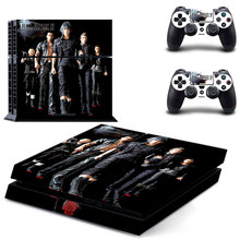 Buy Game Final Fantasy XV PS4 Skin Sticker Decal Sony PS4 PlayStation 4 Console 2 Controllers Stickers for $6.93 in AliExpress store