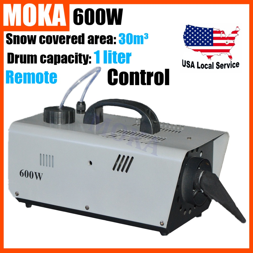 600W Snow Machine Artificial Snow Maker remote control wire control for  professional stage DJ equipment Snow Blower Machine <br><br>Aliexpress