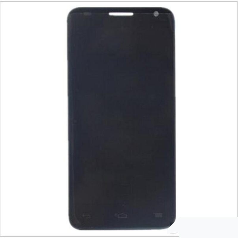 New Original 5.5''Black Touch Screen Digitizer Glass Sensor+LCD Screen For Alcatel One Touch idol S OT6036 6036 LCD Replacements(China (Mainland))