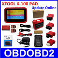 Original XTOOL X100 PAD Diagnostic Tool X 100 X 100 Auto Key Programmer Odometer Adjustment Same