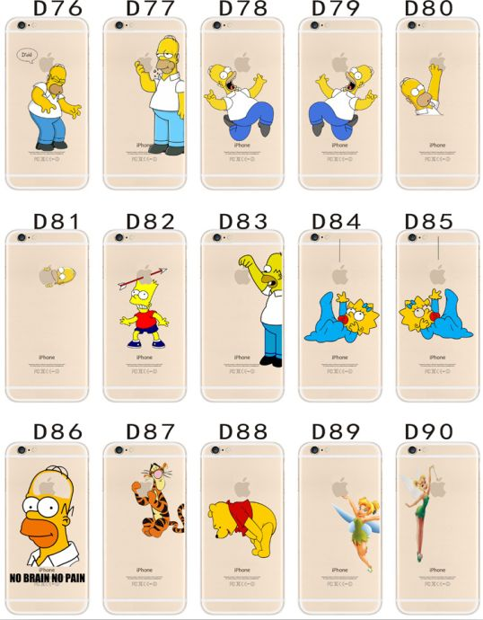 Free Shipping 200pcs/lot Soft TPU Transparent Skin Cover Case for Samsung Galaxy A9 Homer Simpsons Case(China (Mainland))