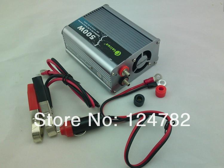 Купить Автомобильный инвертор автомобильный инвертор 12/24 220 В до 220 В 500 Вт питания коммутатор с бесплатная доставка
