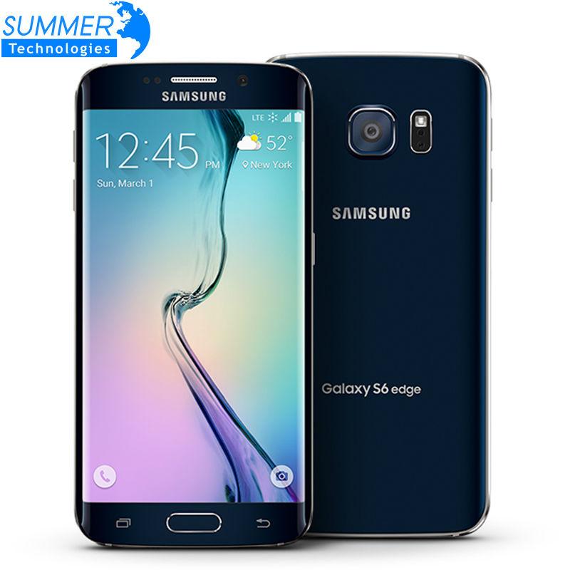 "Original Samsung Galaxy S6 G920F G925F Edge 5.1"" Octa Core 3GB RAM 32GB ROM 16MP GPS NFC Unlocked Refurbished Mobile Phone(China (Mainland))"
