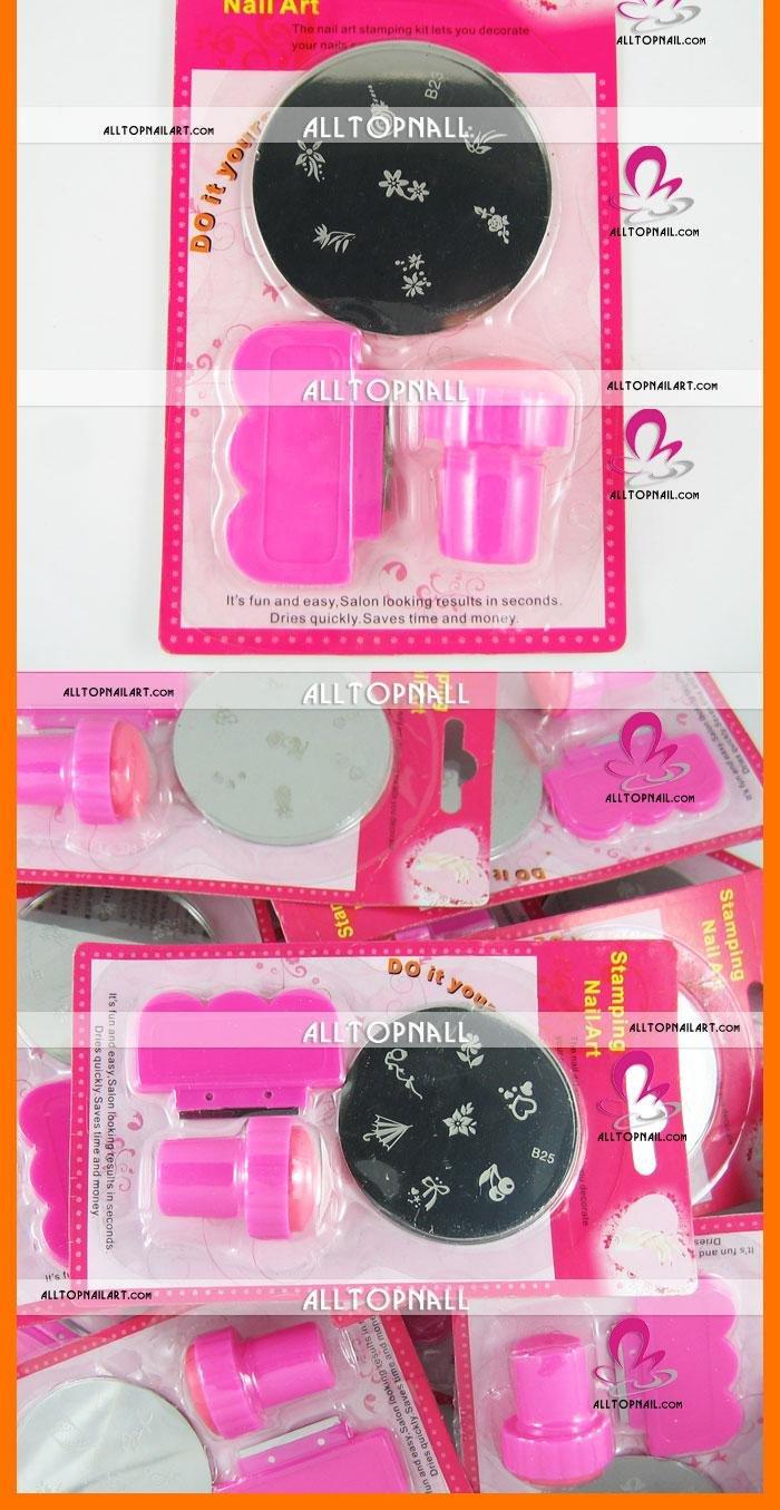 Free Shipping Wholesale-nail systems stamping Nail Art Stamping Kits 36 setslots mix designs_02.jpg