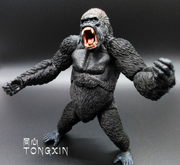 Planet of the Apes 2 Dawn of the Planet of the Apes Gorilla Chimpanzee Lucca 7-inch Diamond Film Can Be Moving Even H31