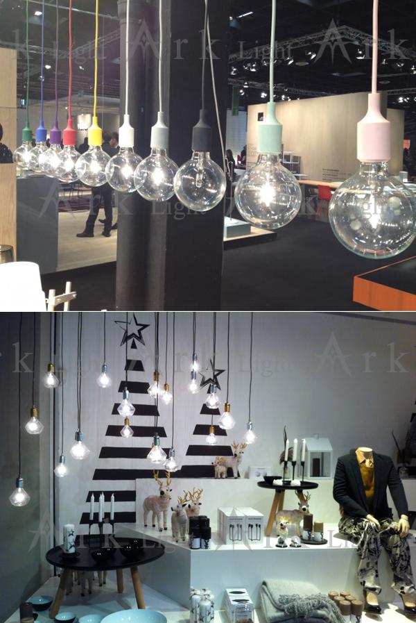 Muuto e27 socket lampe lampe suspension contemporaine edison chandelier light - Suspension ampoule muuto ...