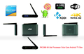 RK3368 Octa core android tv box Android 5 1 Ott Tv Box Professional KODI 2GB 8GB