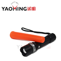 Cree XM L Q5 Rechargeable Led Flashlight Traffic wand linternas torch light Tactical Lamp Flashlights for