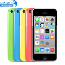 "Original Apple iPhone 5c Used Unlocked Mobile Phone 4"" Retina IPS Used Phone 8MP 1080P GPS IOS iPhone5c Cell Phones(China (Mainland))"