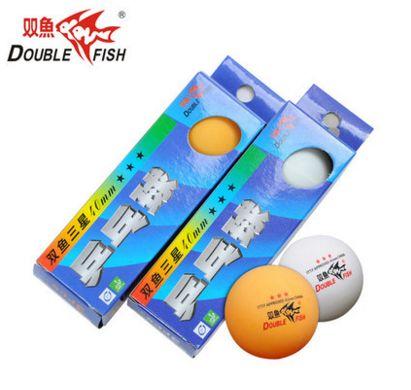 12 balls Double Fish 3 star 40mm+ Table Tennis Pingpong Balls 82007(China (Mainland))