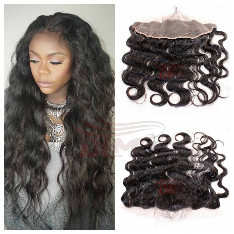 13x4 Ear To Ear Lace Frontal Closure Bleached Knots Body